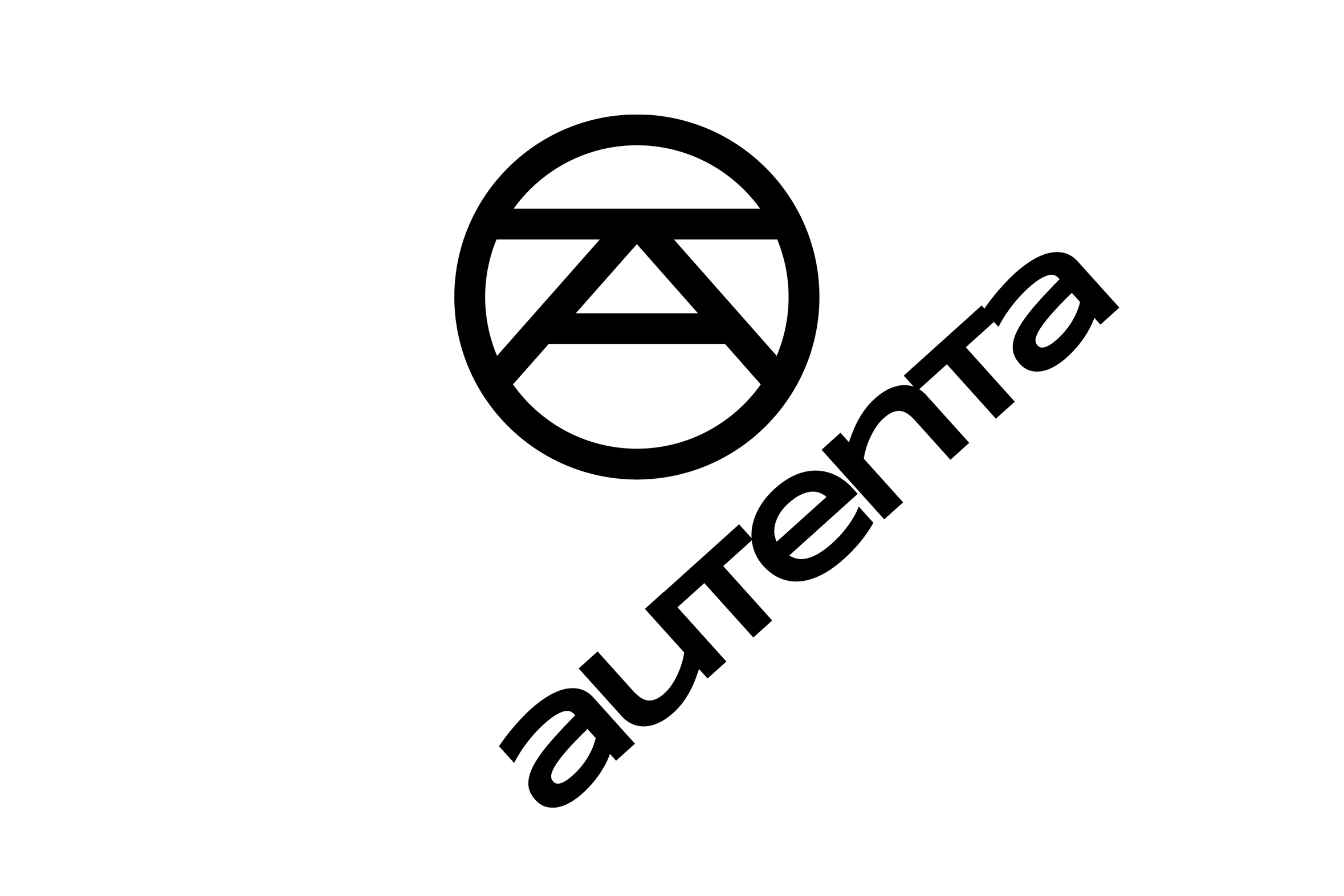 Projekt logo agencji marketingowej Autenta